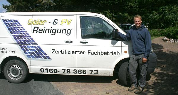 Zertifizierter Fachbetrieb, Solar und PV Reinigung Föhr Schleswig Holstein