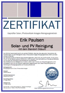 Zertifikat OGS